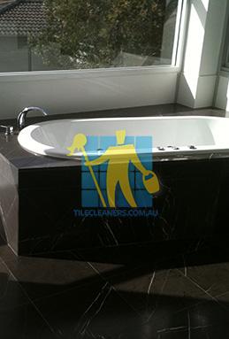 bath restoration brisbane. granite tile floor dusty brisbane bathroom bath tub restoration