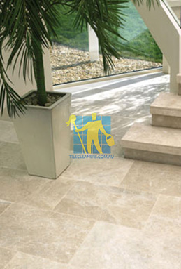 limestone tiles honed santa anna Parkinson cleaning